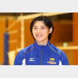 女子バレーボール日本代表の黒後愛選手(C)日刊ゲンダイ