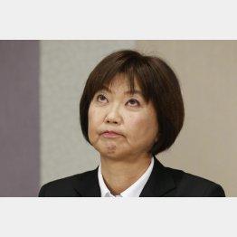LPGAの小林浩美会長(C)日刊ゲンダイ