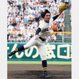 西純矢投手は身長184センチ体重79キロ・右投右打(C)日刊ゲンダイ