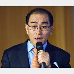 太永浩(テ・ヨンホ)氏は朴槿恵政権時代に脱北(C)共同通信社