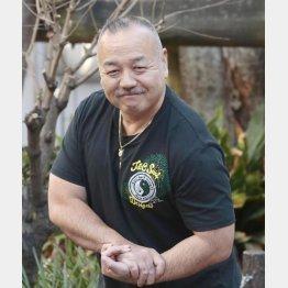 丸山ケヅメリク生態研究所所長の丸山久雄さん(C)日刊ゲンダイ
