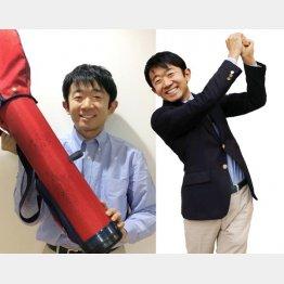 えなりかずきさん。岡本綾子さんのサインを2度もらったジュニア用バッグを大切にしている(提供写真)