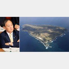 地元がさまざまな計画を検討中なのに(右は馬毛島)/(C)共同通信社