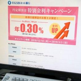 特別金利キャンペーン中(住信SBIネット銀行)