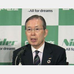 日本電産の永守会長(C)共同通信社