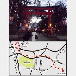 江戸時代から芝居の興行が行われていた(花園神社)/(C)日刊ゲンダイ
