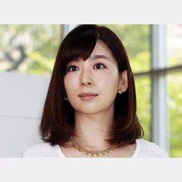テレビ朝日の松尾由美子アナ(C)日刊ゲンダイ