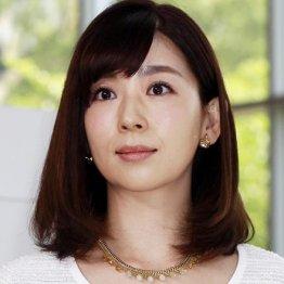 テレビ朝日の松尾由美子アナ