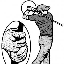 冬ゴルフは寒くて厚着に…スタンスは狭くクラブは短く持つ