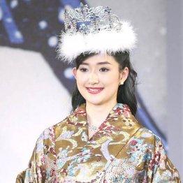 ミス日本の度會亜衣子さん