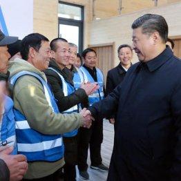河北省雄安新区を視察で訪れた習近平国家主席