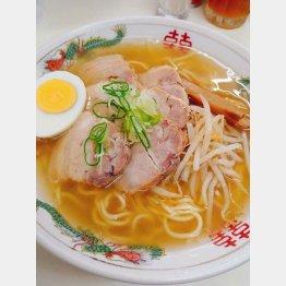 チャーシューメン800円(提供写真)