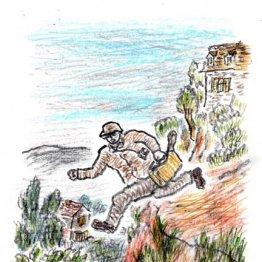マダガスカルで「番犬」に追われて崖から飛び降りた思い出
