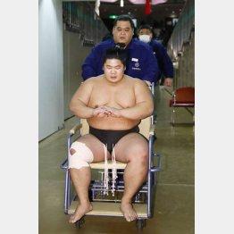 """""""軽量級""""の宇良も…(C)共同通信社"""