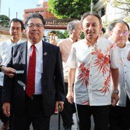 玉城デニー沖縄県知事、鳩山元首相らが辺野古問題を語る