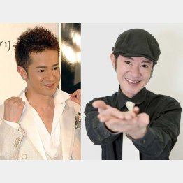 2003年当時の山咲さん(左)/(C)日刊ゲンダイ