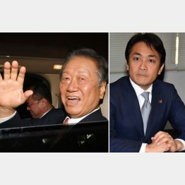 自由の小沢一郎代表が再び「剛腕」を発揮する(右は国民民主の玉木雄一郎代表)/(C)日刊ゲンダイ