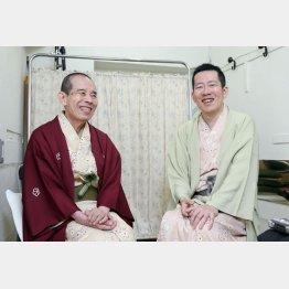 林家木久蔵(左)と林家木久扇(C)日刊ゲンダイ