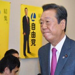 小沢一郎自由党党首