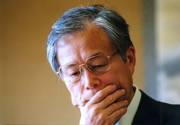 史上最年長で名人になった米長邦雄(C)日刊ゲンダイ