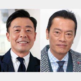 光石研(左)と遠藤憲一(C)日刊ゲンダイ