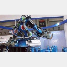 産業用ロボットからも引き合い(C)日刊ゲンダイ
