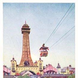 近代的ロープウエーの日本初登場は1912年の初代通天閣