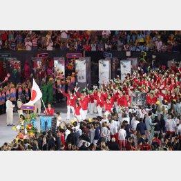 リオ五輪の開会式は約21万円だった(C)日刊ゲンダイ