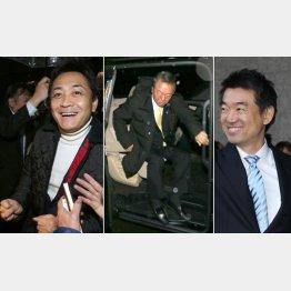 (左から)玉木雄一郎代表、小沢一郎代表、橋下徹・前大阪市長(C)日刊ゲンダイ