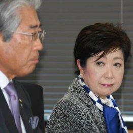 共にひと安心(左は竹田JOC会長)