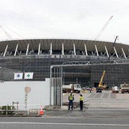 新国立競技場の建設現場