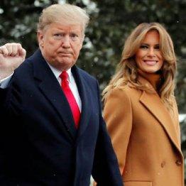 トランプ米大統領夫妻