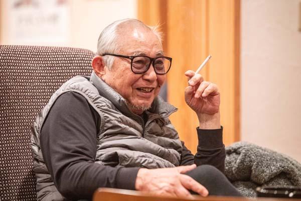 倉本聰氏(写真・大西裕之)