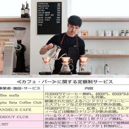 """月9000円で""""至高の幸せ""""を(Alpha Beta Coffee Club)"""