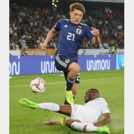 アジアカップでアピール不足に終わったMF堂安(C)Norio ROKUKAWA/office La Strada