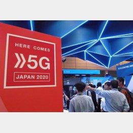 5Gへの投資は続く(C)日刊ゲンダイ