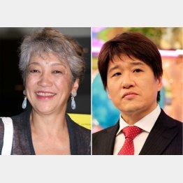 中尾ミエ(左)と林修(C)日刊ゲンダイ