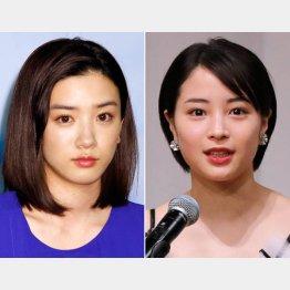 永野芽郁(左)と広瀬すず(C)日刊ゲンダイ