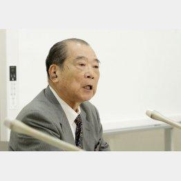 平野貞夫氏(C)日刊ゲンダイ