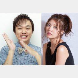 「ななめ45°」岡安章介さんと夫人で元SDN48の木本夕貴さん(C)日刊ゲンダイ