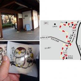 JR目白駅から池袋駅へ 乱歩の好物だった和菓子を発見