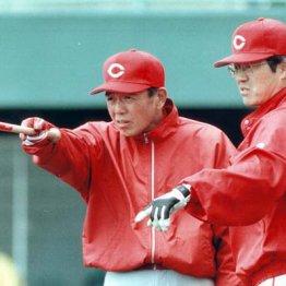 大下ヘッド(左)と達川監督