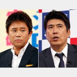 浜田雅功(左)と石橋貴明(C)日刊ゲンダイ