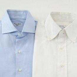 ワイシャツは「胸ポケット」と「前立て」で着分ける