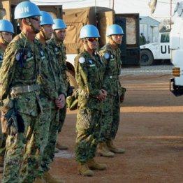 現在は国連南スーダン派遣団司令部に4人だけ(写真は2016年)