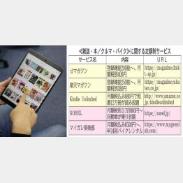 おトクさが魅力(C)日刊ゲンダイ
