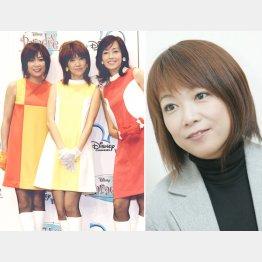 堀ちえみさん(右)と3人組ユニット「キューティー★マミー」(05年)/(C)日刊ゲンダイ