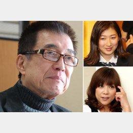 (左から時計回りに)故・入川保則さん、池江璃花子さん、堀ちえみさん(C)日刊ゲンダイ