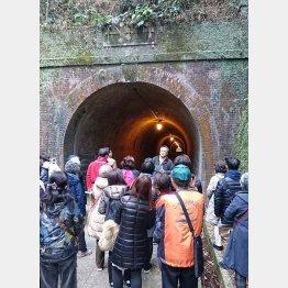 静岡県静岡市、藤枝市の「宇津ノ谷明治トンネル」/(提供写真)