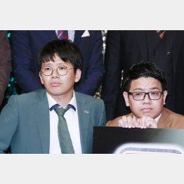潔癖症をカミングアウトしたミキの弟・亜生(左)(C)日刊ゲンダイ